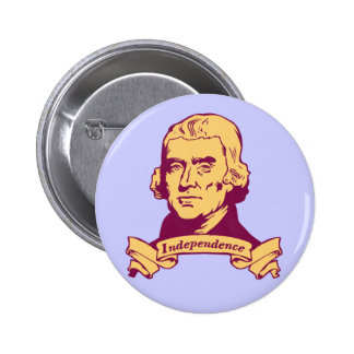Thomas Jefferson Pinback Button