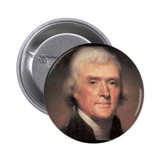 Thomas Jefferson Pinback Button