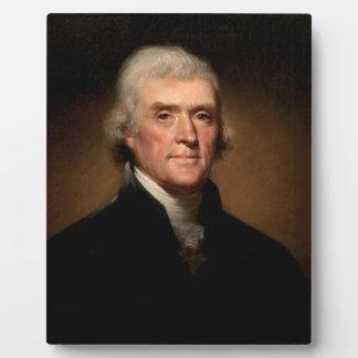 Thomas Jefferson Placas De Madera