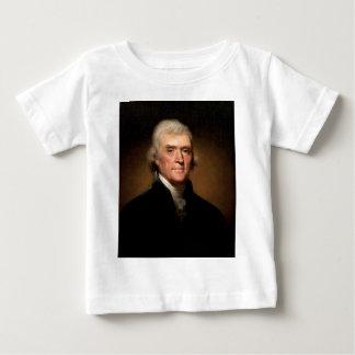 Thomas Jefferson Playera De Bebé