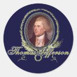 Thomas Jefferson Portrait Sticker