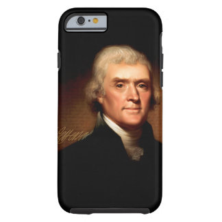 Thomas Jefferson Portrait Tough iPhone 6 Case