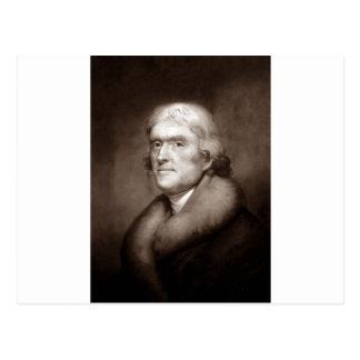 Thomas Jefferson Postcards