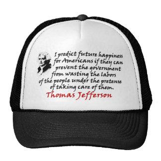 Thomas Jefferson: Prevent The Government! Trucker Hat