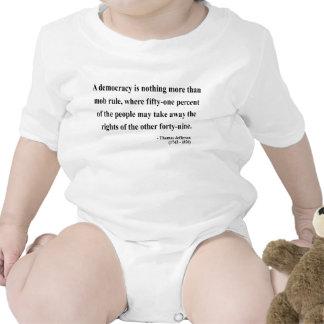 Thomas Jefferson Quote 10a Tshirts
