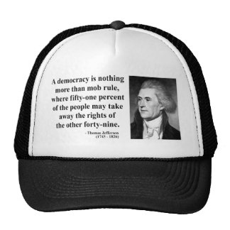Thomas Jefferson Quote 10b Hats