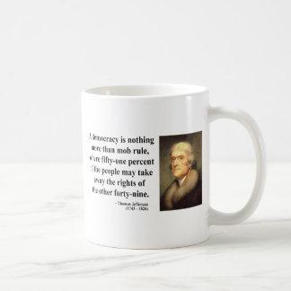 Thomas Jefferson Quote 10c Coffee Mug
