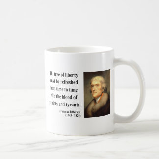 Thomas Jefferson Quote 12c Coffee Mug