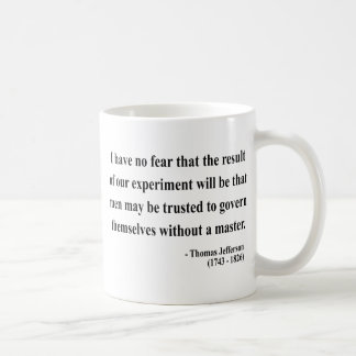 Thomas Jefferson Quote 13a Coffee Mug