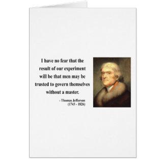 Thomas Jefferson Quote 13c Card
