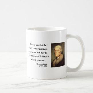 Thomas Jefferson Quote 13c Coffee Mug