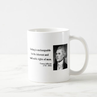 Thomas Jefferson Quote 14b Coffee Mug