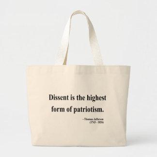 Thomas Jefferson Quote 15a Tote Bag