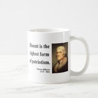 Thomas Jefferson Quote 15c Coffee Mug