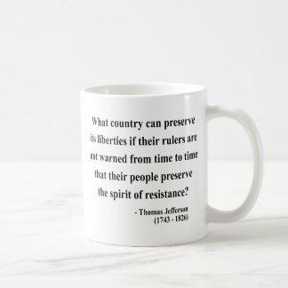 Thomas Jefferson Quote 16a Coffee Mug