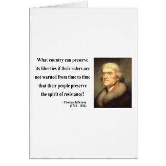 Thomas Jefferson Quote 16c Card