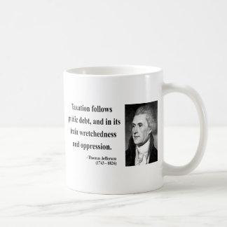 Thomas Jefferson Quote 17b Coffee Mug