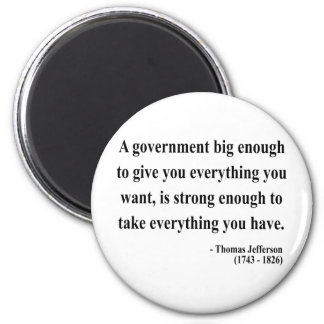 Thomas Jefferson Quote 1a Magnet