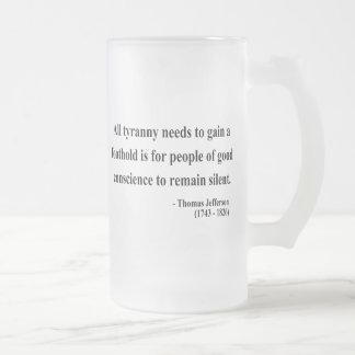 Thomas Jefferson Quote 4a Mugs