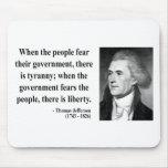 Thomas Jefferson Quote 5b Mouse Pad