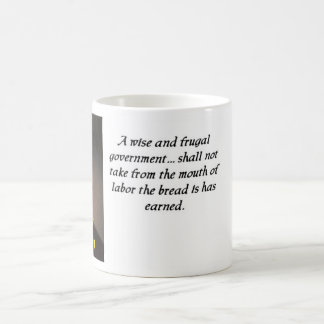 Thomas Jefferson quote 8 mug