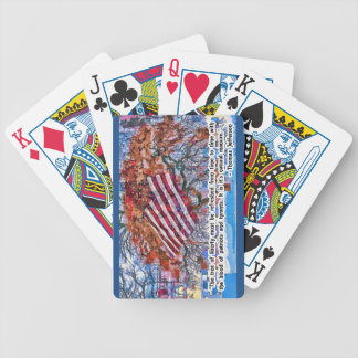Thomas Jefferson Quote Bicycle Playing Cards