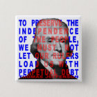 Thomas Jefferson Quote Button