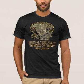 Thomas Jefferson Quote: Eternal Vigilance T-Shirt