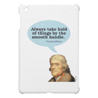 Thomas Jefferson Quote iPad Mini Cover