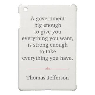 Thomas Jefferson Quote iPad Mini Cases