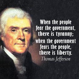 Thomas Jefferson Quotes Tyranny