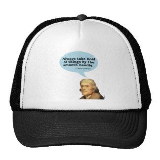 Thomas Jefferson Quote Trucker Hat