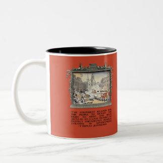 Thomas Jefferson Quote: Tyranny in the Government Coffee Mug