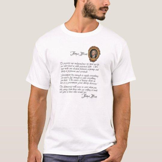 Thomas Jefferson Quotes on Liberty T-Shirt