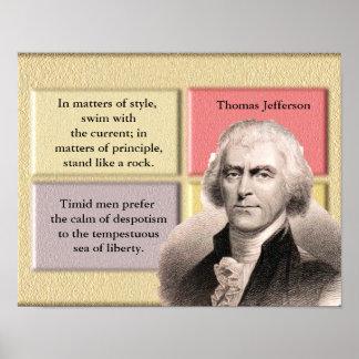 Thomas Jefferson Quotes _ Poster