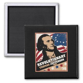 Thomas Jefferson Revolutionary Magnet