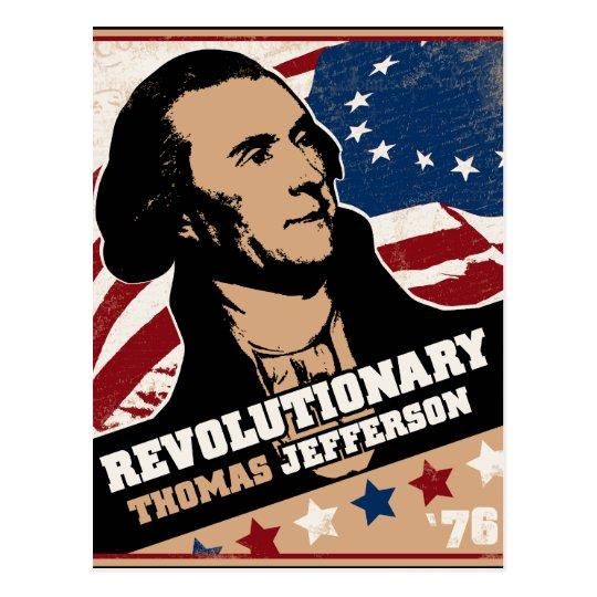 Thomas Jefferson Revolutionary Postcard