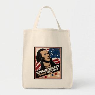 Thomas Jefferson Revolutionary Tote Bag