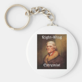 thomas jefferson right-wing rightwing extremist keychain