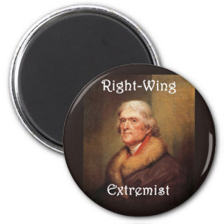 thomas jefferson right-wing rightwing extremist magnet