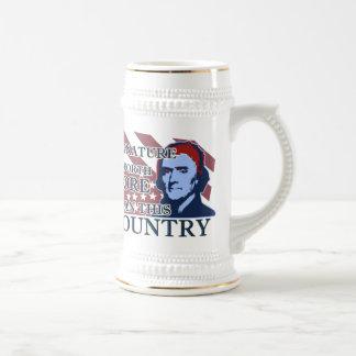 Thomas Jefferson Signature Country Stein Mug