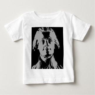 Thomas jefferson silhouette baby T-Shirt