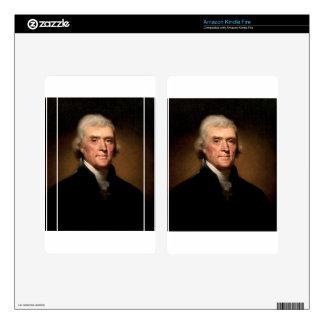 Thomas Jefferson Skin Para Kindle Fire