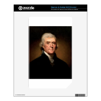 Thomas Jefferson Skins For The NOOK Color