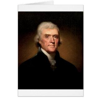 Thomas Jefferson Tarjeta De Felicitación