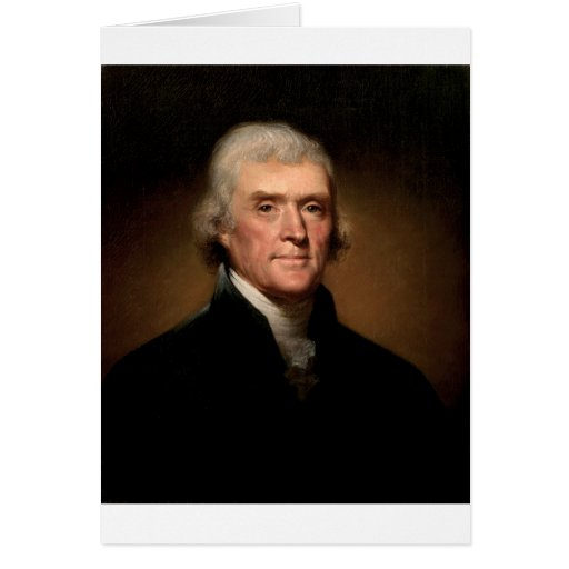 Thomas Jefferson Tarjetas