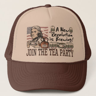 Thomas Jefferson Tea Party Shirts and Gifts Trucker Hat