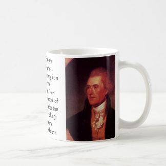 thomas Jefferson, thomas Jefferson, I predict f... Classic White Coffee Mug