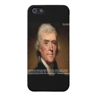 Thomas Jefferson Trickle Down Gifts & Cards iPhone SE/5/5s Case