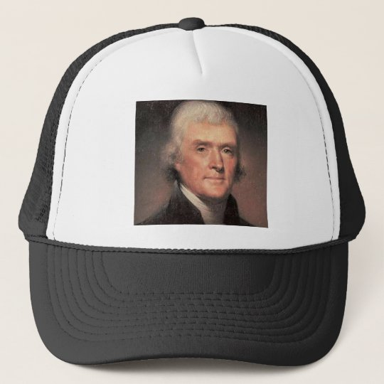Thomas Jefferson Trucker Hat